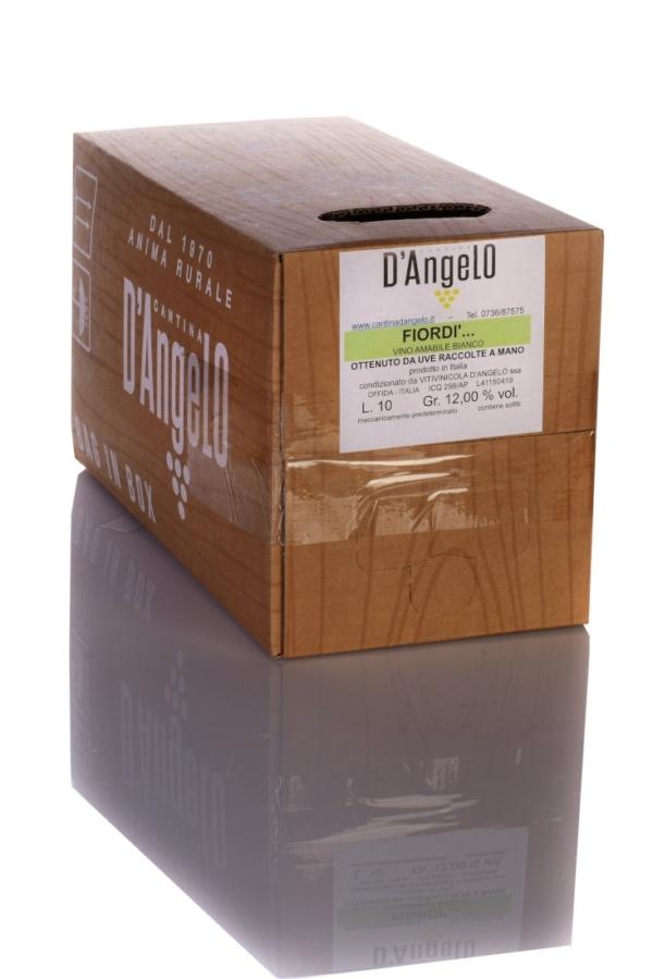 fiordi bianco vino amabile 10l cantinadangelo